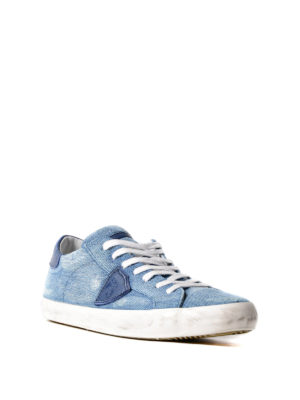 Philippe Model: trainers online - Paris denim sneakers