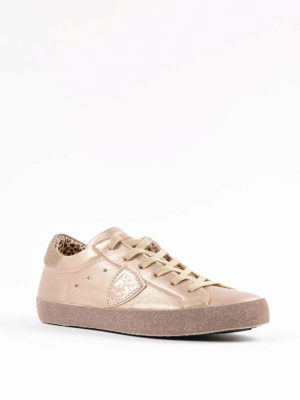 Philippe Model: trainers online - Paris Glitter sneakers