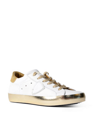 Philippe Model: trainers online - Paris leather sneakers