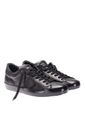 Philippe Model: trainers online - Paris low top calfskin sneakers