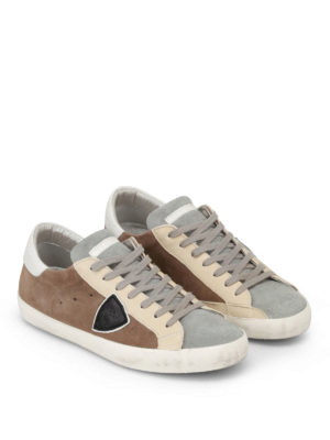 Philippe Model: trainers online - Paris Mixage leather sneakers