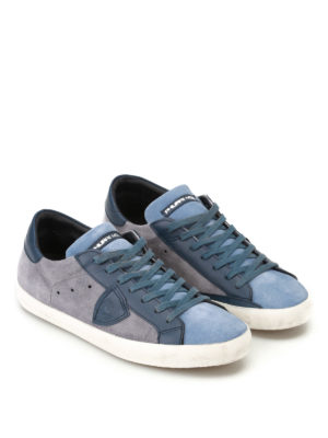 Philippe Model: trainers online - Paris Mixage suede sneakers