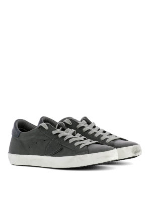 Philippe Model: trainers online - Paris soft calfskin sneakers