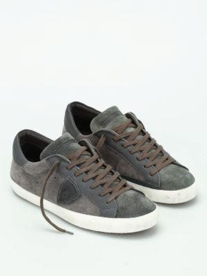 Philippe Model: trainers online - Paris suede sneakers