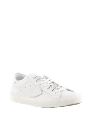 Philippe Model: trainers online - Paris white leather sneakers