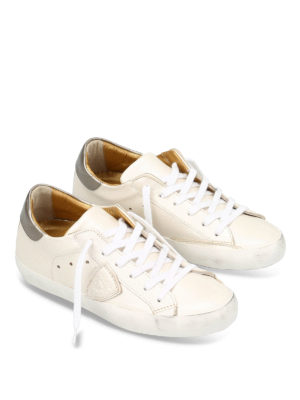Philippe Model: trainers online - Pearly leather Classic shoes