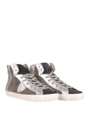Philippe Model: trainers online - Suede high-top sneakers