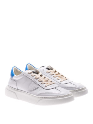 Philippe Model: trainers online - Temple white and blue sneakers