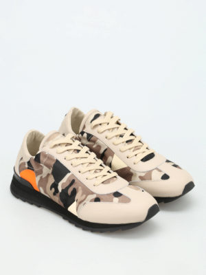Philippe Model: trainers online - Toujours camu sneakers