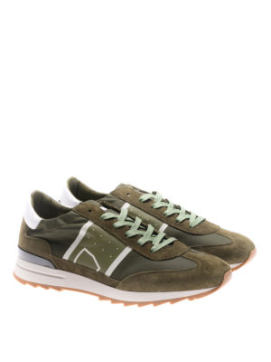 Philippe Model: trainers online - Toujours green basic sneakers