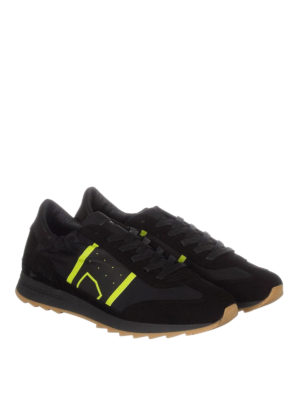 Philippe Model: trainers online - Toujours nylon and suede sneakers