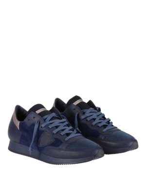 Philippe Model: trainers online - Tropez blue sneakers