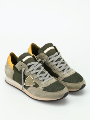 Philippe Model: trainers online - Tropez dark green sneakers