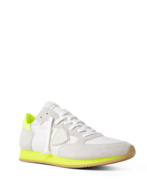 Philippe Model: trainers online - Tropez fluo detail classic sneakers
