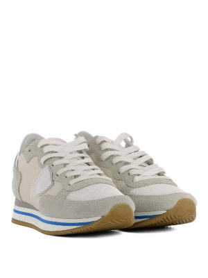 Philippe Model: trainers online - Tropez Higher beige sneakers