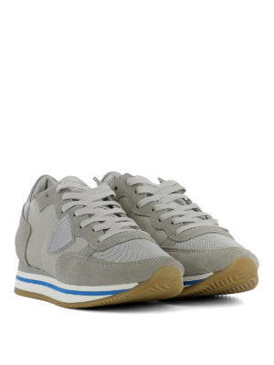 Philippe Model: trainers online - Tropez Higher grey sneakers