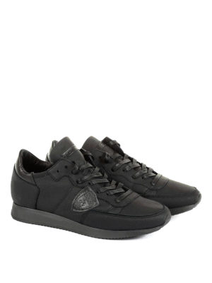 Philippe Model: trainers online - Tropez leather low top sneakers