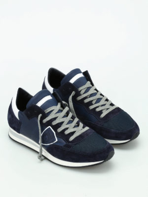Philippe Model: trainers online - Tropez leather sneakers
