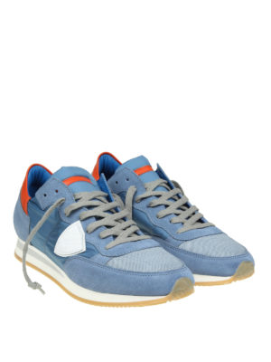 Philippe Model: trainers online - Tropez light blue sneakers