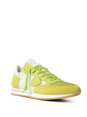 Philippe Model: trainers online - Tropez lightweight lime sneakers