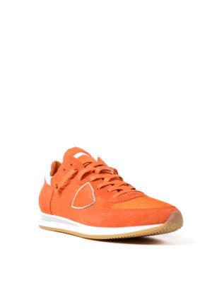 Philippe Model: trainers online - Tropez lightweight orange sneakers