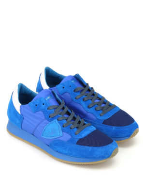 Philippe Model: trainers online - Tropez low top royal blue sneakers