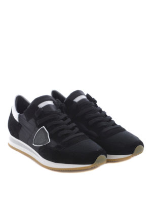 Philippe Model: trainers online - Tropez low top suede sneakers