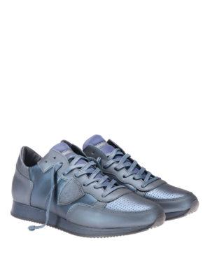 Philippe Model: trainers online - Tropez metallic sneakers