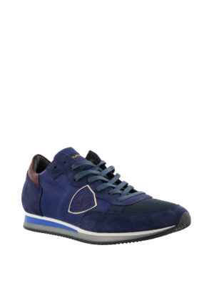 Philippe Model: trainers online - Tropez Mondial blue sneakers