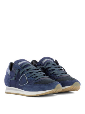 Philippe Model: trainers online - Tropez Mondial bluette sneakers