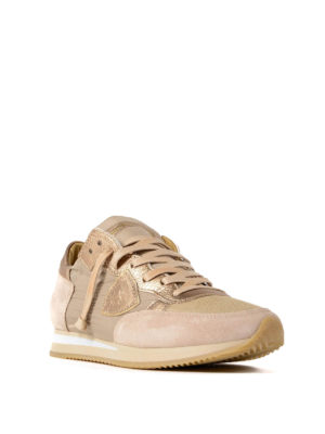 Philippe Model: trainers online - Tropez Mondial Boue Or sneakers