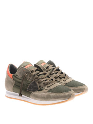 Philippe Model: trainers online - Tropez Mondial dark green sneakers
