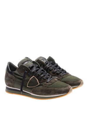 Philippe Model: trainers online - Tropez Mondial green sneakers