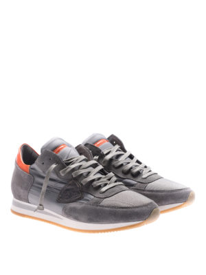 Philippe Model: trainers online - Tropez Mondial grey sneakers