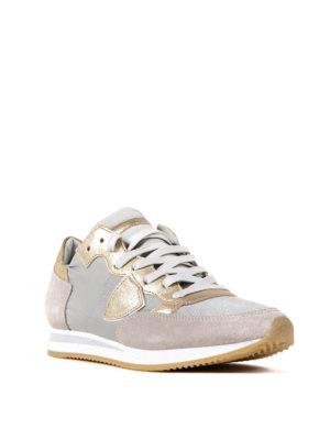 Philippe Model: trainers online - Tropez Mondial Gris Platinum shoes