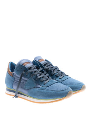 Philippe Model: trainers online - Tropez Mondial light blue sneakers