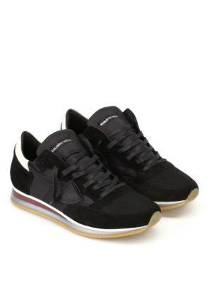 Philippe Model: trainers online - Tropez Mondial noir blanc sneakers