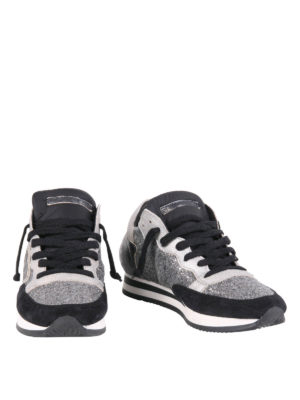 Philippe Model: trainers online - Tropez multifabric sneakers