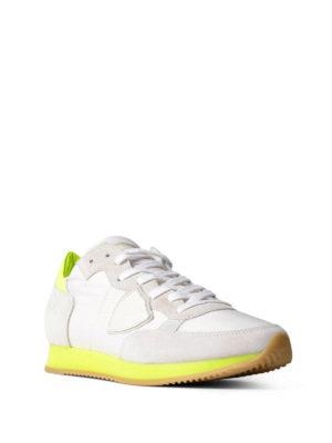 Philippe Model: trainers online - Tropez neon blanc jaune sneakers