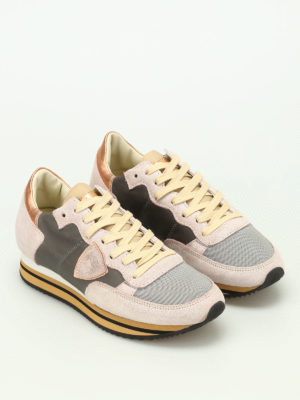 Philippe Model: trainers online - Tropez pearly sneakers