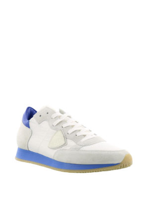 Philippe Model: trainers online - Tropez sneakers with blue sole