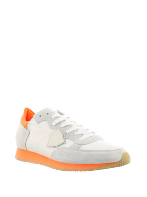Philippe Model: trainers online - Tropez sneakers with orange sole