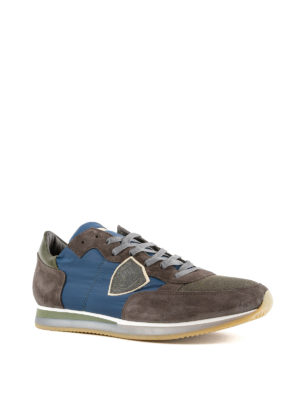 Philippe Model: trainers online - Tropez suede multicolour sneakers