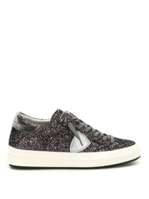 Philippe Model: trainers - Opera glittered sneakers