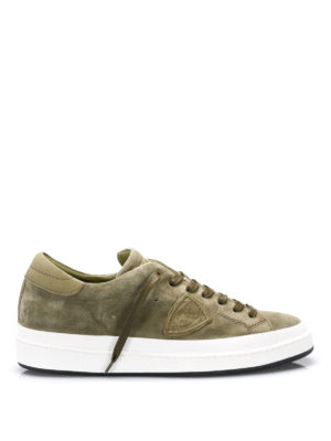 Philippe Model: trainers - Opera suede sneakers