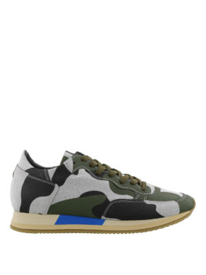 PHILIPPE MODEL: sneakers - Sneaker Paradis camouflage