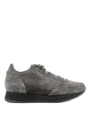 PHILIPPE MODEL: sneakers - Sneaker Paradis in suede grigio scuro