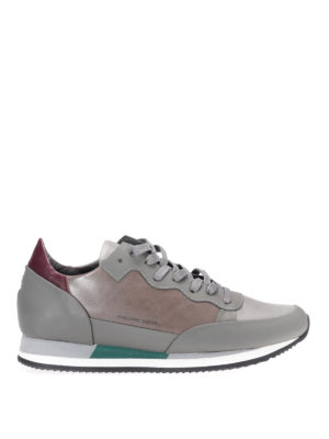 Philippe Model: trainers - Paradis leather sneakers