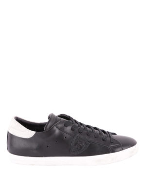 PHILIPPE MODEL: sneakers - Sneaker Paris Basic nere talloncino bianco