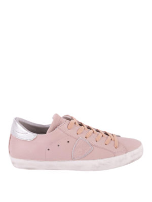 PHILIPPE MODEL: sneakers - Sneaker Paris Basic dai toni nude